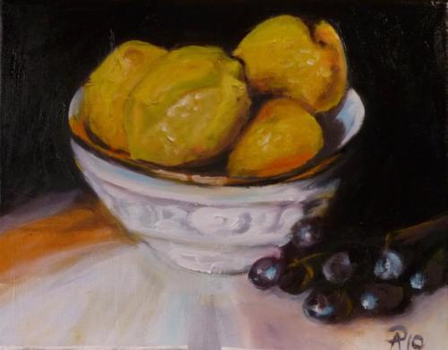 Schale Zitronen